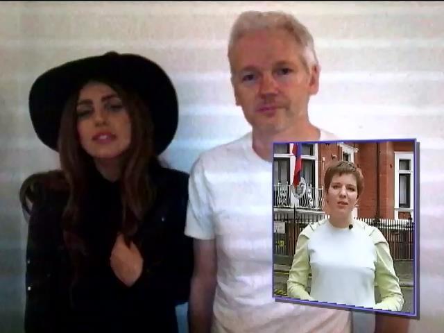 Джулиан Ассанж станет звездой модных подиумов (видео) (видео)