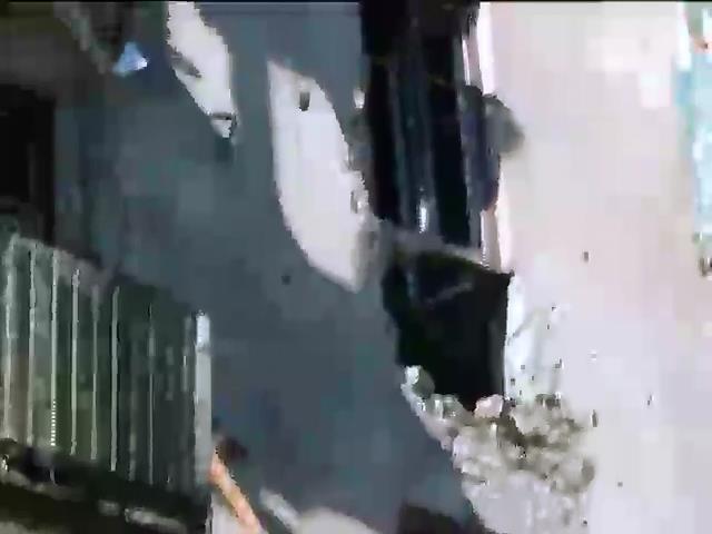 Горисполком в Краматорске обстреляли из минометов (видео) (видео)