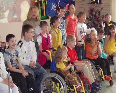 Дети и инвалиды с донбасса прибыли в