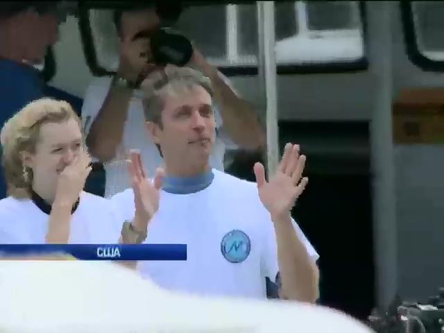 Онук Жак-Iва Кусто побив рекорд перебування пiд водою (видео)