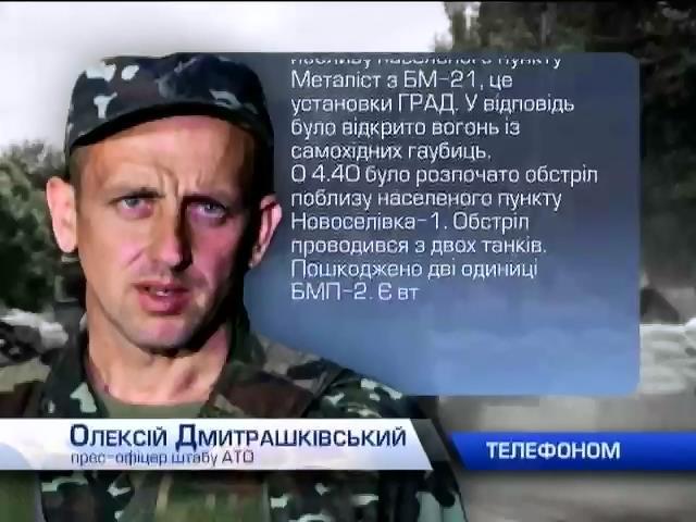 Вночi терористи знову обстрiляли з мiнометiв аеродроми у Луганську та Краматорську (видео)