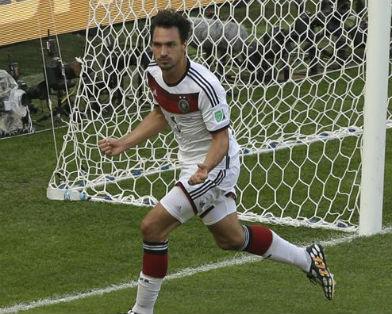 ЧМ-2014: Германия стала первым полуфиналистом