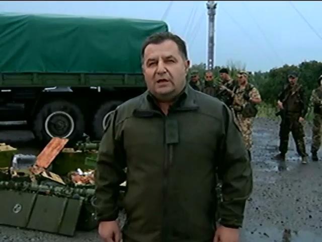 """У Донецьку озброeнi сепаратисти прогулюються мiстом та називають себе """"вiйськовим патрулем"""" (видео)"""