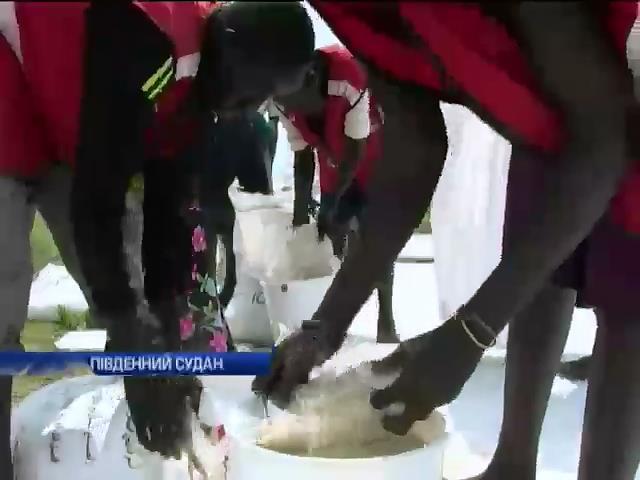 Червоний Хрест готуe допомогу Пiвденному Судану (видео)