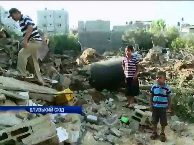 Палестинськi бойовики нанесли черговий удар по мiстах Iзраiлю (вiдео) (видео)