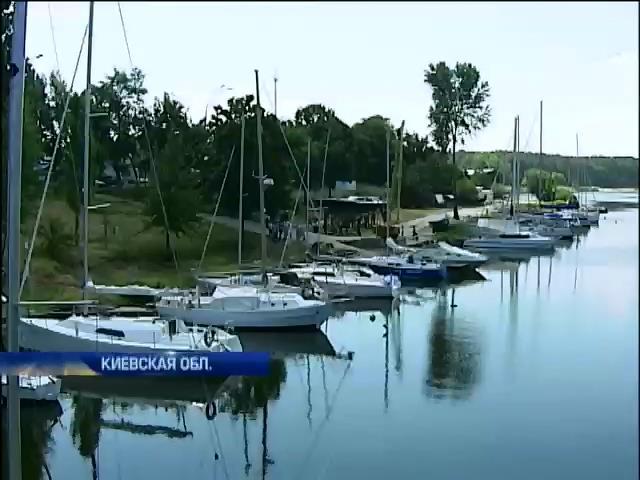 Власти Вышгорода отбирают участки у старейшего на Киевском море яхт-клуба (видео) (видео)