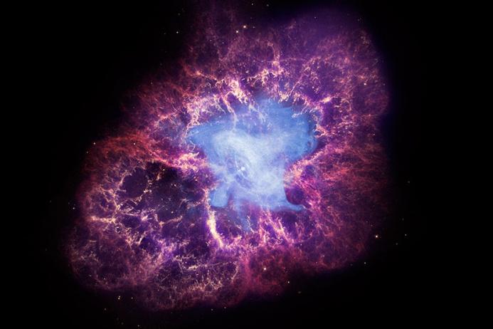Ученые отследили формирование звездной пыли