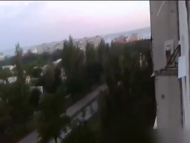 Жилые районы Северодонецка обстреляны минометным огнем (видео) (видео)