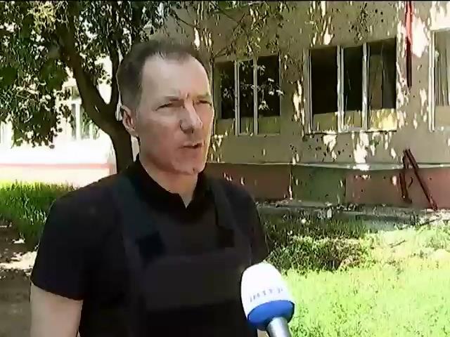 Николай Рудьковский пообещал восстановить школу в Славянске (видео)