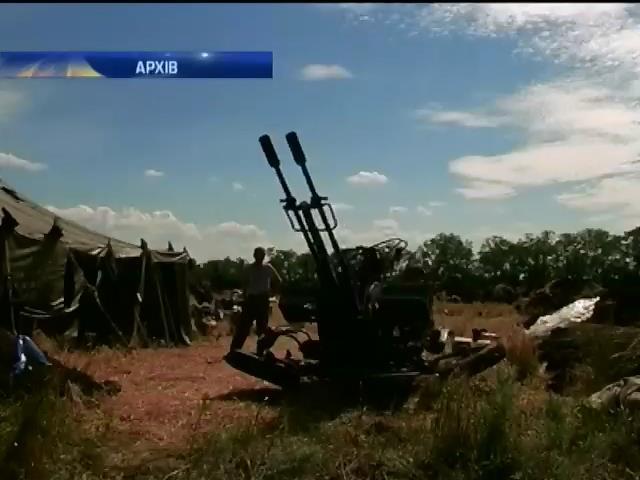 Украiнська авiацiя знищила два танки разом iз кiлькома десятками терористiв (видео)