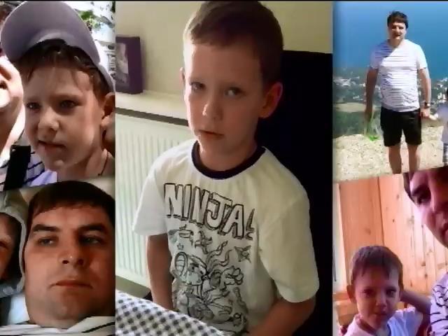 Месяц в плену: 5-летний сын мэра Горловки просит вернуть похищенного отца (видео) (видео)