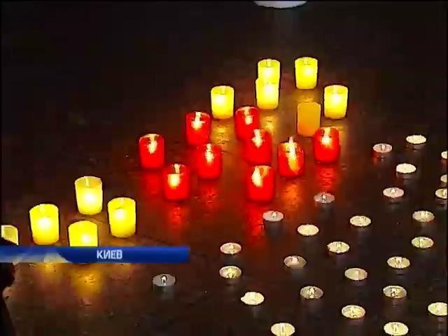 Киев почтил память Небесной сотни в Михайловском соборе (видео) (видео)