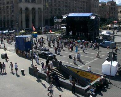 Майдан - силовикам: военные придут разгонять эту власть (фото)