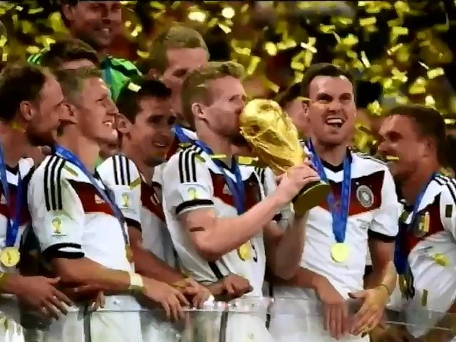 Нiмцi на чолi з Меркель святкували перемогу збiрноi всю нiч (вiдео) (видео)