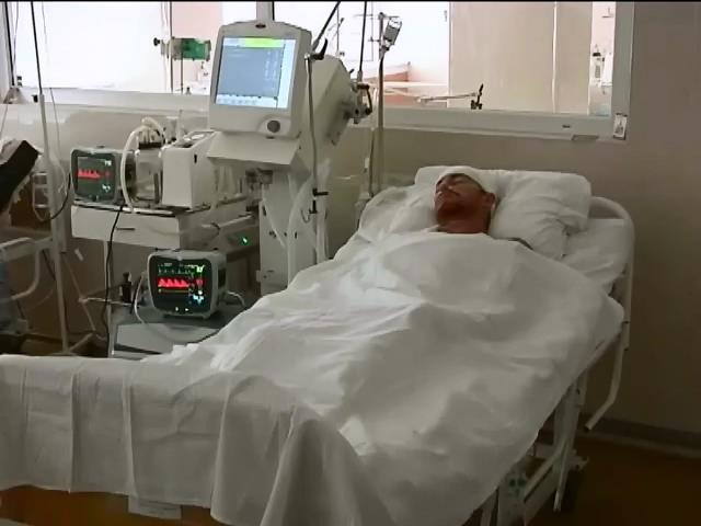 В Днепропетровске от тяжелых ранений умер солдат из зоны АТО (видео)