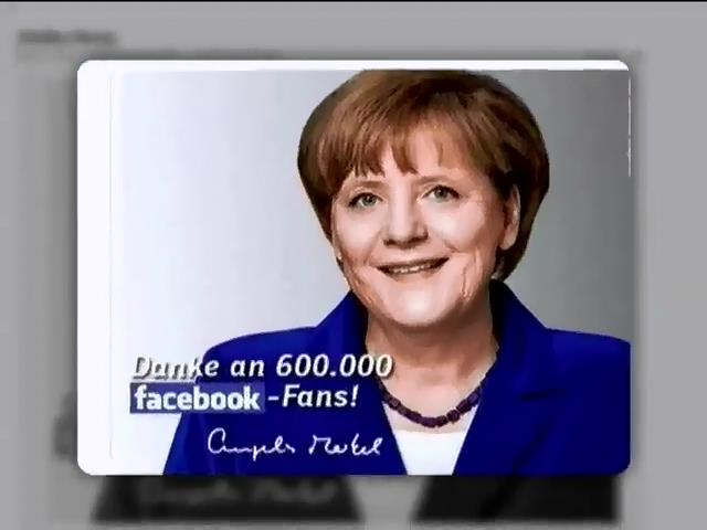 Украинцы заспамили Facebook Меркель сравнением с Риббентропом (видео)