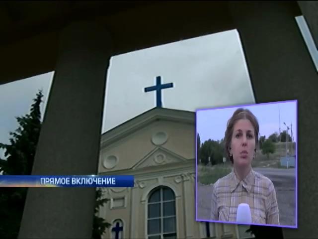 Священников в Славянске могли убить за их веру (видео) (видео)