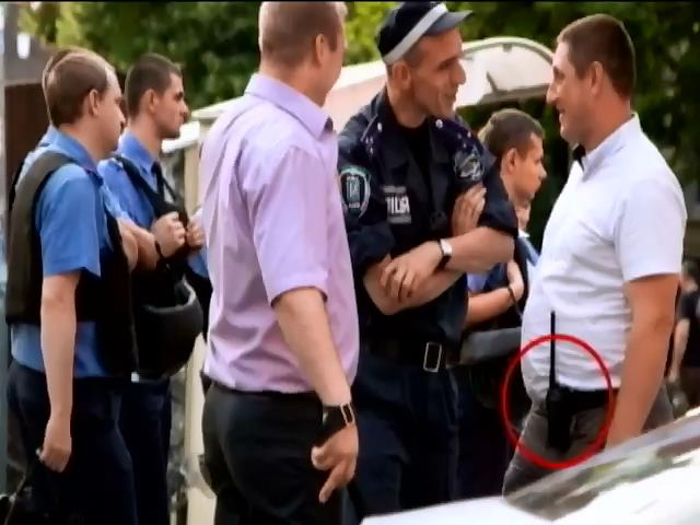 Беркутовец,  избивавший журналистов на Майдане, не уволен (видео)