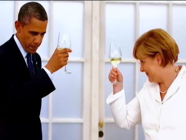 Европа поздравила Ангелу Меркель с 60-летием (видео) (видео)