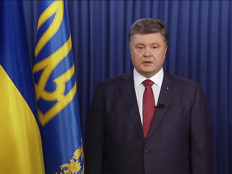 Порошенко: война вышла за пределы Украны (видео) (видео)