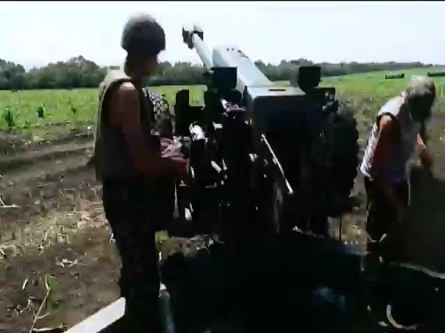 Россия продолжает обстреливать позиции украинских войск (видео)