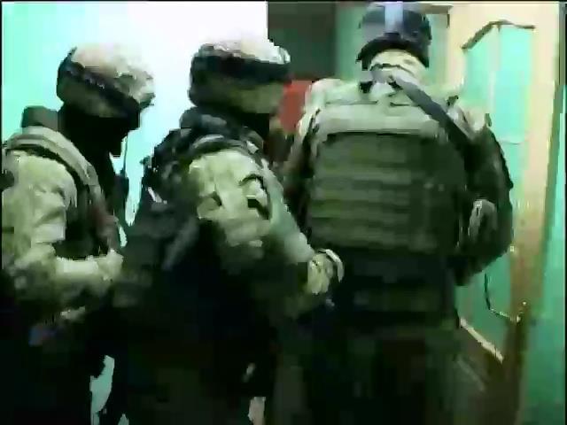 У задержаных в Днепропетровске диверсантов обнаружили гранатометы (видео) (видео)