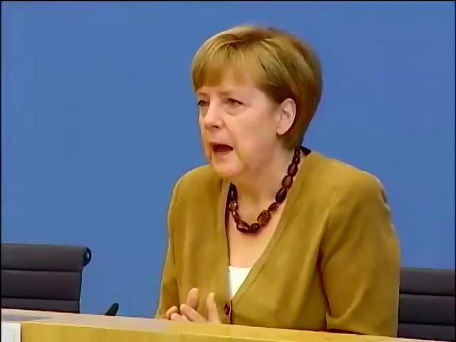 Меркель приняла решение о расширении санкций против России (видео)