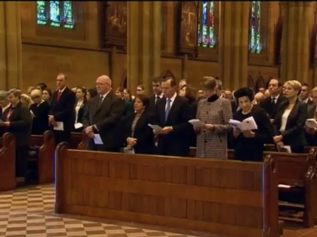 Австралiя молилася за жертв трагедii малазiйського Боiнга (видео)