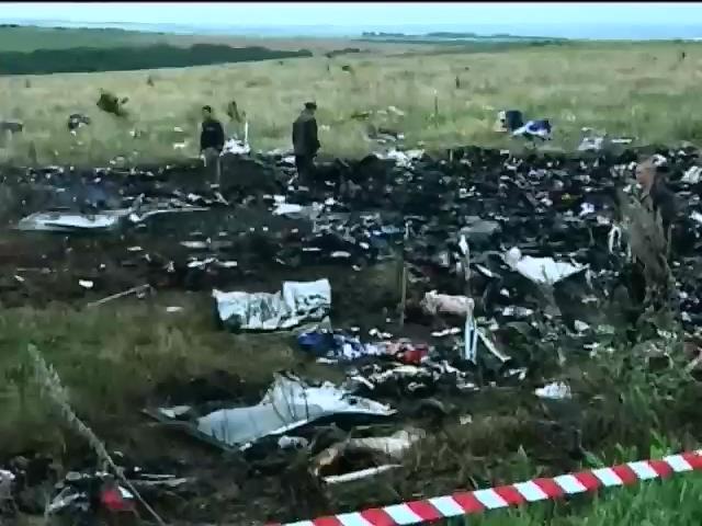 Рятувальники збiльшили територiю пошуку на мiсцi падiння Боiнга-777 (видео)