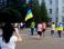 Северодонецк встретил военных флагами Украины и овациями (видео)