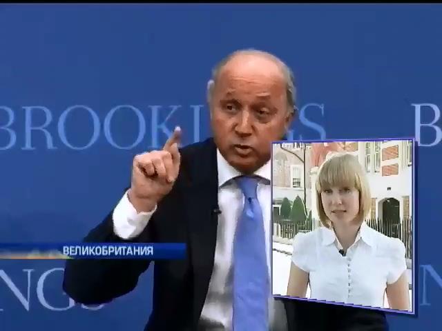 Франция и Британия обвинили друг друга в поддержке России (видео) (видео)