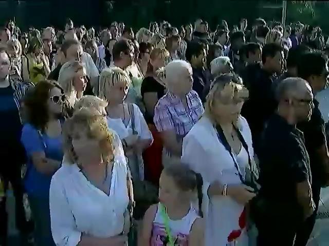 Харкiв'яни попрощалися з жертвами катастрофи Боiнга-777 (видео)