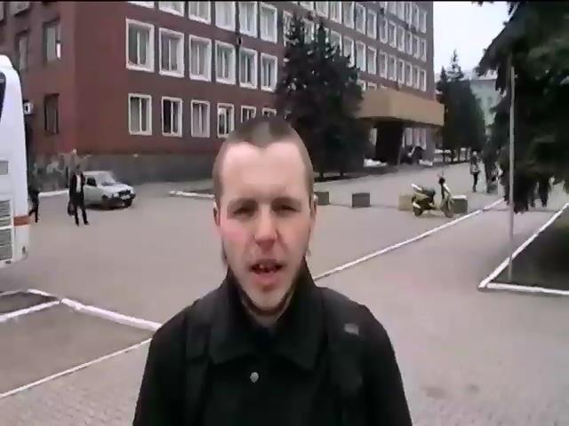 Террористы выпустили из плена донецкого фотокорреспондента Антона Скибу (видео)