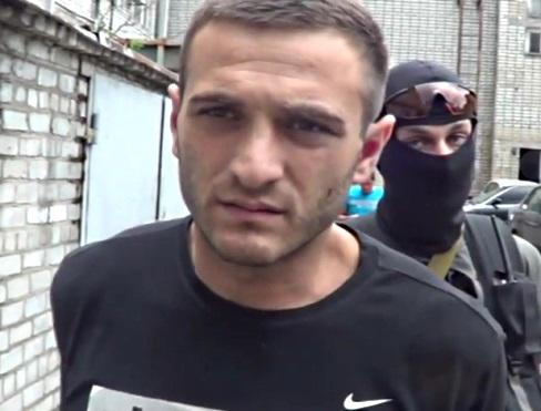 В Бердянске задержали террористов, бежавших из Луганска (видео)