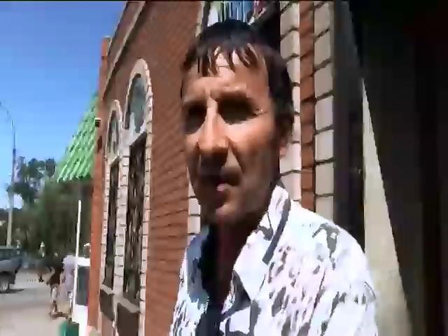 В разрушении Лисичанска горожане винят террористов (видео)