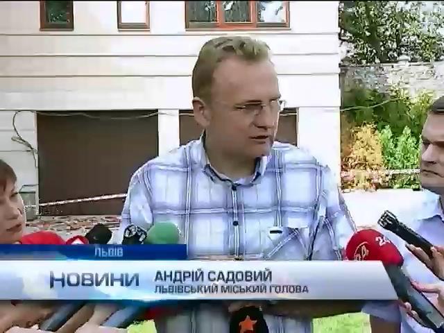 Мер Львова не знаe, хто може хотiти його смертi (вiдео) (видео)