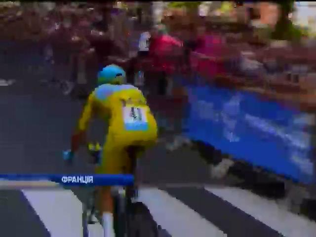 """Велогонку """"Тур де Франс"""" може виграти iталieць (видео)"""