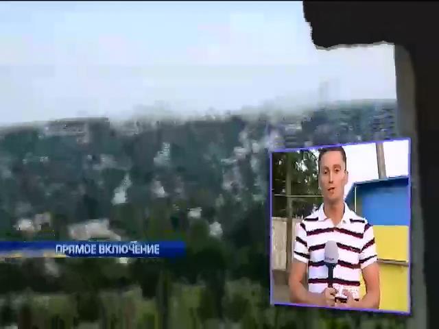 В районе Первомайска ведутся тяжелые бои (видео)
