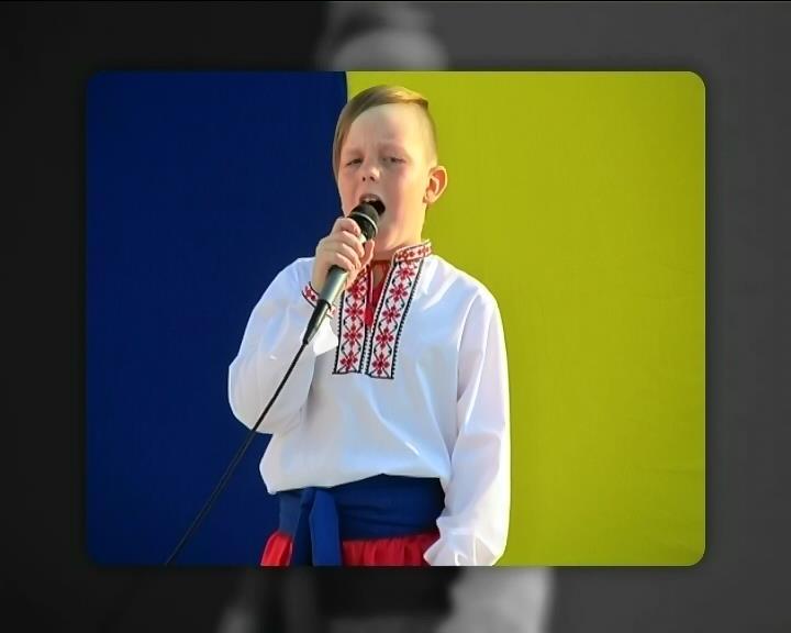 Дiти Киiвщини пiдтримали украiнську армiю пiснями й танцями (видео)
