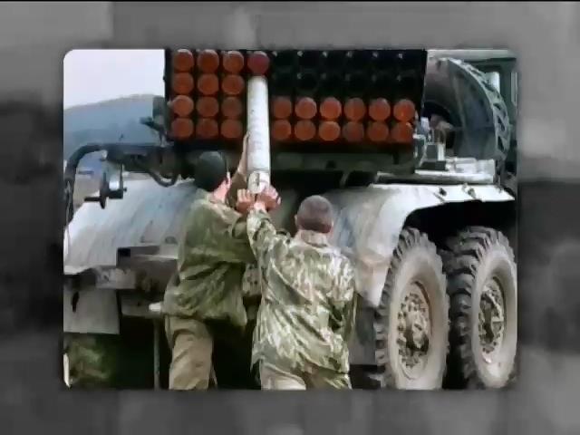 """Российские военные хвастаются обстрелом """"Градами"""" по Украине (видео)"""