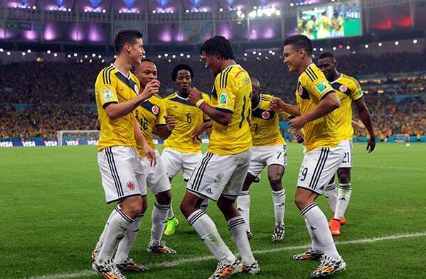 """Колумбiя бере приклад з футболiстiв: танцюють """"сальса-шок"""" (видео)"""