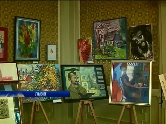 Львiвськi митцi влаштували аукцiон на пiдтримку вiйськових (вiдео) (видео)