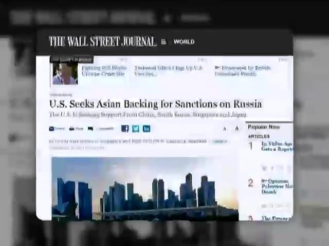 США переконуe Китай та Корею ввести санкцii проти Росii (видео)