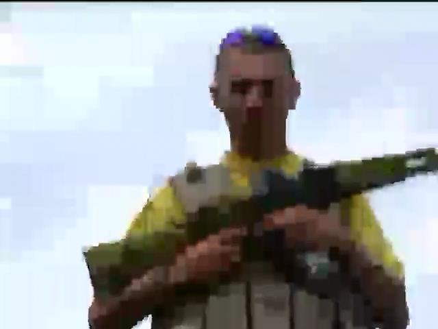 Командиры батальонов обнаружили пыточную террористов (видое) (видео)
