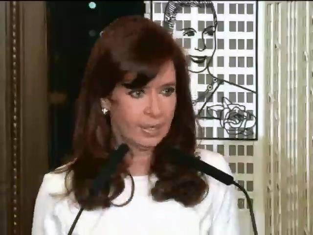 Президент Аргентини спростувала iнформацiю про дефолт краiни (видео)