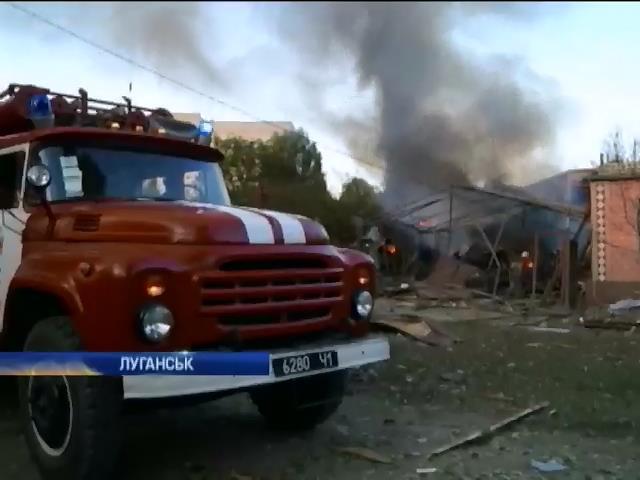 Луганськ на мiсяць залишиться без електропостачання (видео)
