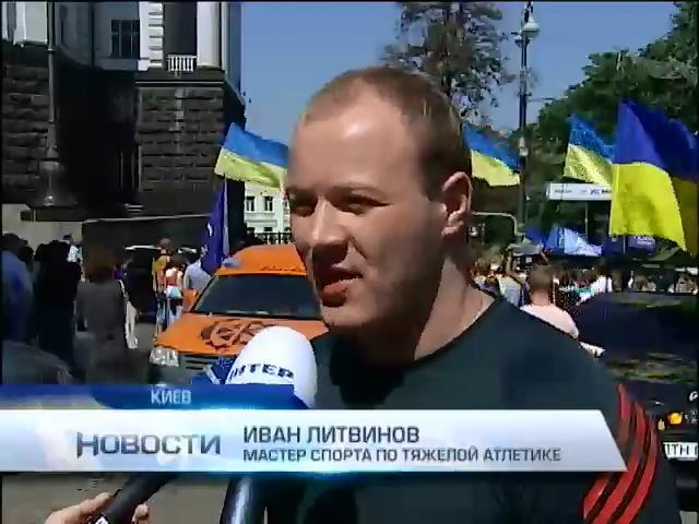 Спортсмены утверждают, что министр Булатов не выделяет денег на соревнования (видео)