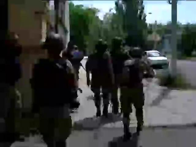 Украинские силовики штурмуют Красногоровку под Донецком (видео)