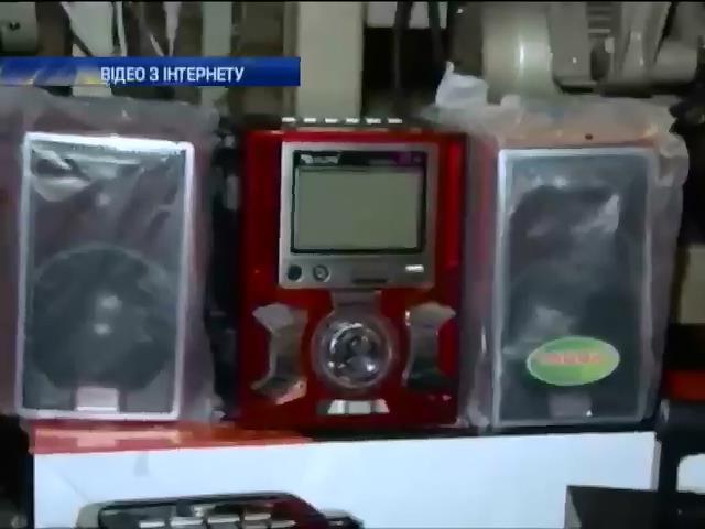 В Одесi затримали контарбанду з Китаю на 7 мiльйонiв гривень (видео)