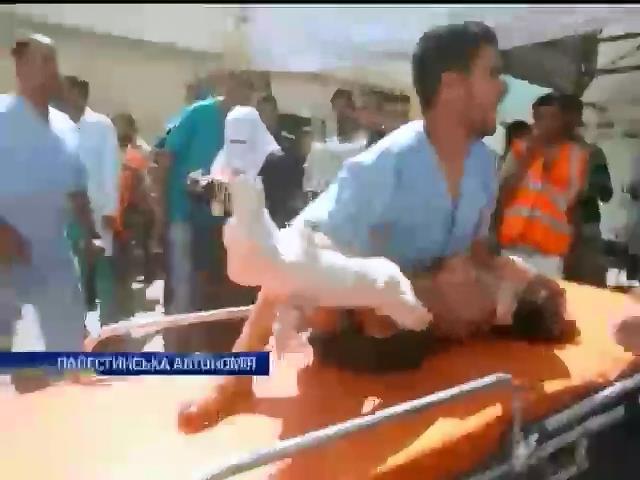 Палестинське мiсто Рафах пiд шкавальним вогнем: 44 загиблих (видео)